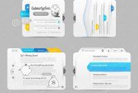Business Website Template Design Menu Navigation Elements With Icons throughout Free Website Menu Design Templates