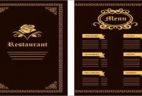 Cafe Menu Design Template Free Download Lovely  Menu Design with Sample Menu Design Templates