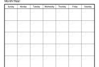 Calendar Templates Printable Free Fieldstationco  Self Discovery for Blank Calander Template