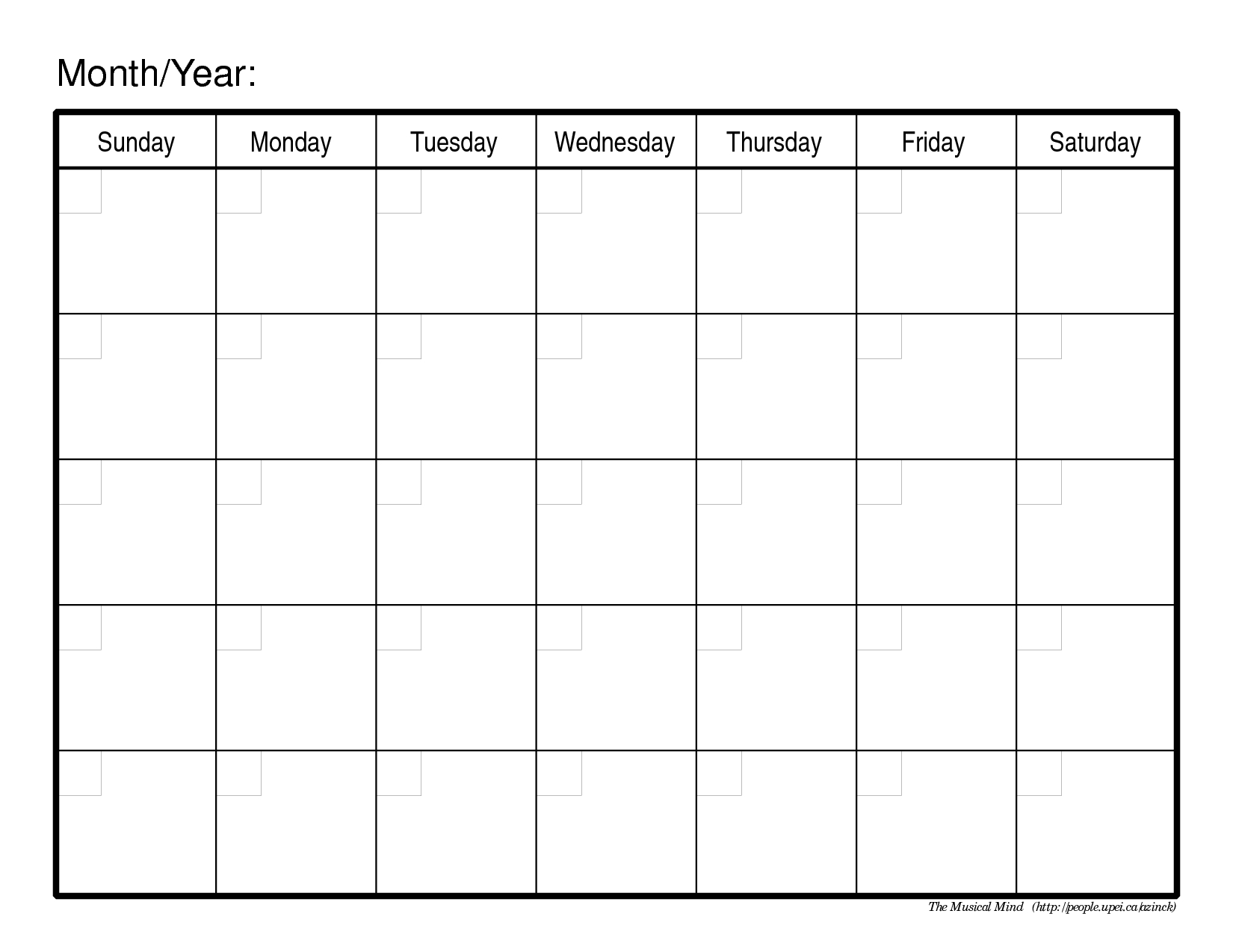 Calendar Templates Printable Free Fieldstationco  Self Discovery With Blank Calender Template