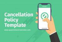 Cancellation Policy Template within Salon Cancellation Policy Template