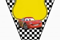 Cars Invitations And Free Party Printables  Oh My Fiesta In English regarding Cars Birthday Banner Template