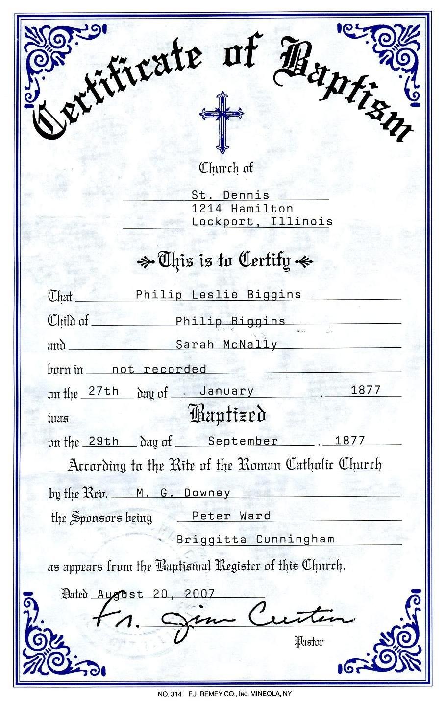 Catholic Baptism Certificate  Yahoo Image Search Results  Free For Roman Catholic Baptism Certificate Template