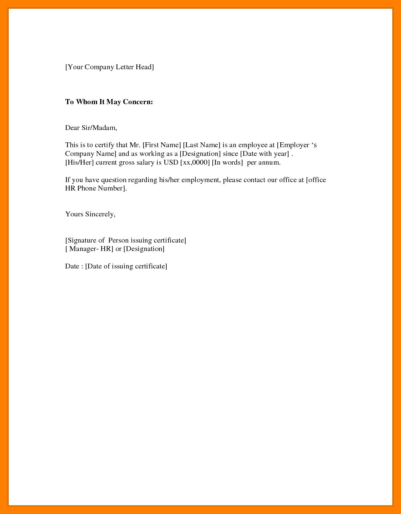 Certificate Employment Sample Format  – Elsik Blue Cetane For Sample Certificate Employment Template