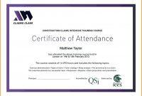 Certificate Internship Letters Fresh Training Certificates pertaining to Attendance Certificate Template Word