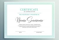 Certificate Of Appreciation Template Download  Templates Study intended for Gratitude Certificate Template