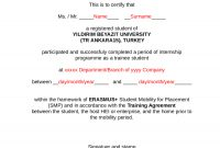 Certificate Of Attendance  Fillable Printable Pdf  Forms inside Certificate Of Attendance Conference Template