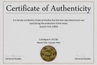 Certificate Of Authenticity Template  Katieroseintimates throughout Certificate Of Authenticity Photography Template