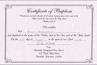 Certificate Of Baptism Template Free Awesome Ideas Broadman Word In Christian Baptism Certificate Template