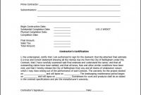 Certificate Of Completion Template Construction  Toha pertaining to Construction Certificate Of Completion Template