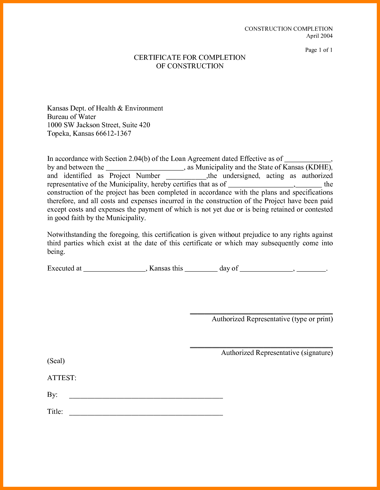 Certificate Of Job Completion Templates  Weekly Template Pertaining To Certificate Of Completion Template Construction