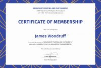 Certificate Of Membership  Mvblog with Life Membership Certificate Templates
