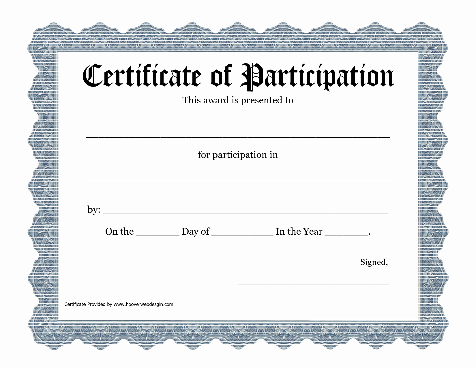 Certificate Of Participation Template Pdf – Pictimilitude Pertaining To Participation Certificate Templates Free Download