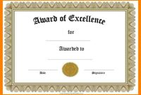 Certificate Of Recognition Template Word Ideas Award Templates throughout Microsoft Word Certificate Templates