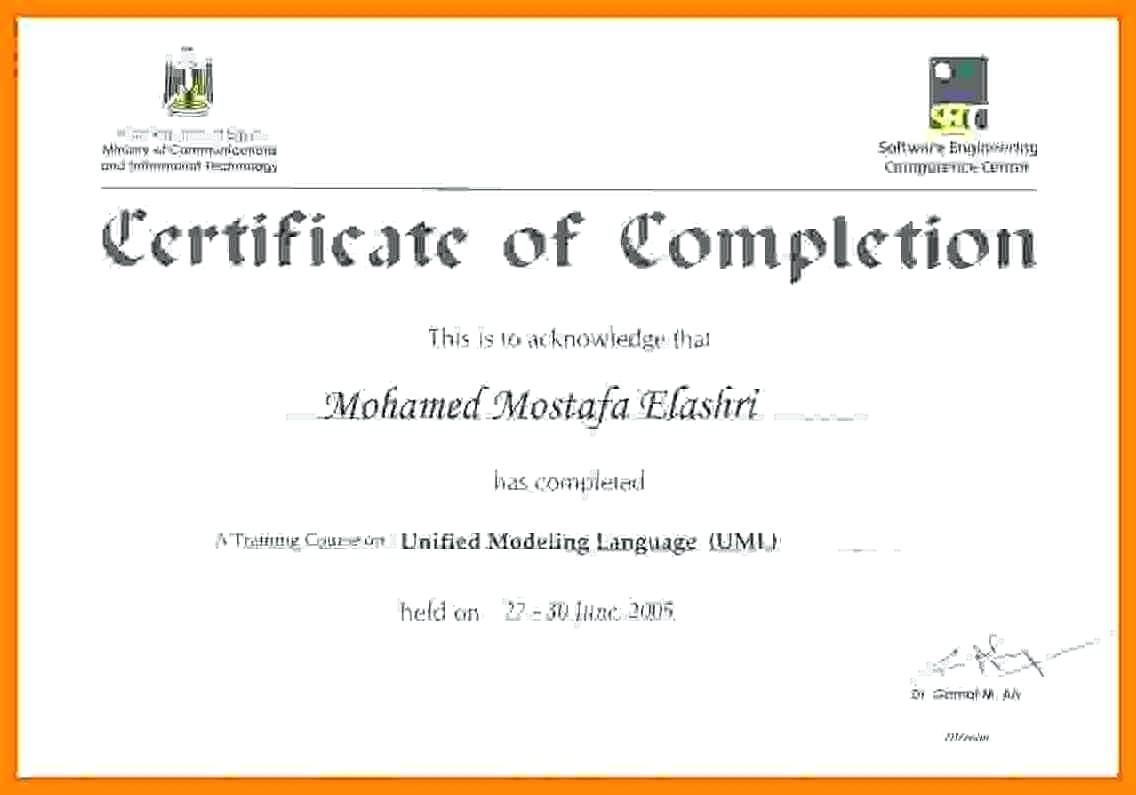 Certificate Of Training Templates For Word Filename  Elsik Blue Cetane Within Training Certificate Template Word Format