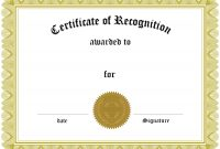 Certificate Printable  Certificates Templates Free in Superlative Certificate Template