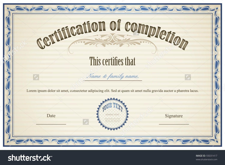 Certificate Sample Templates Filename  Elsik Blue Cetane Pertaining To High Resolution Certificate Template