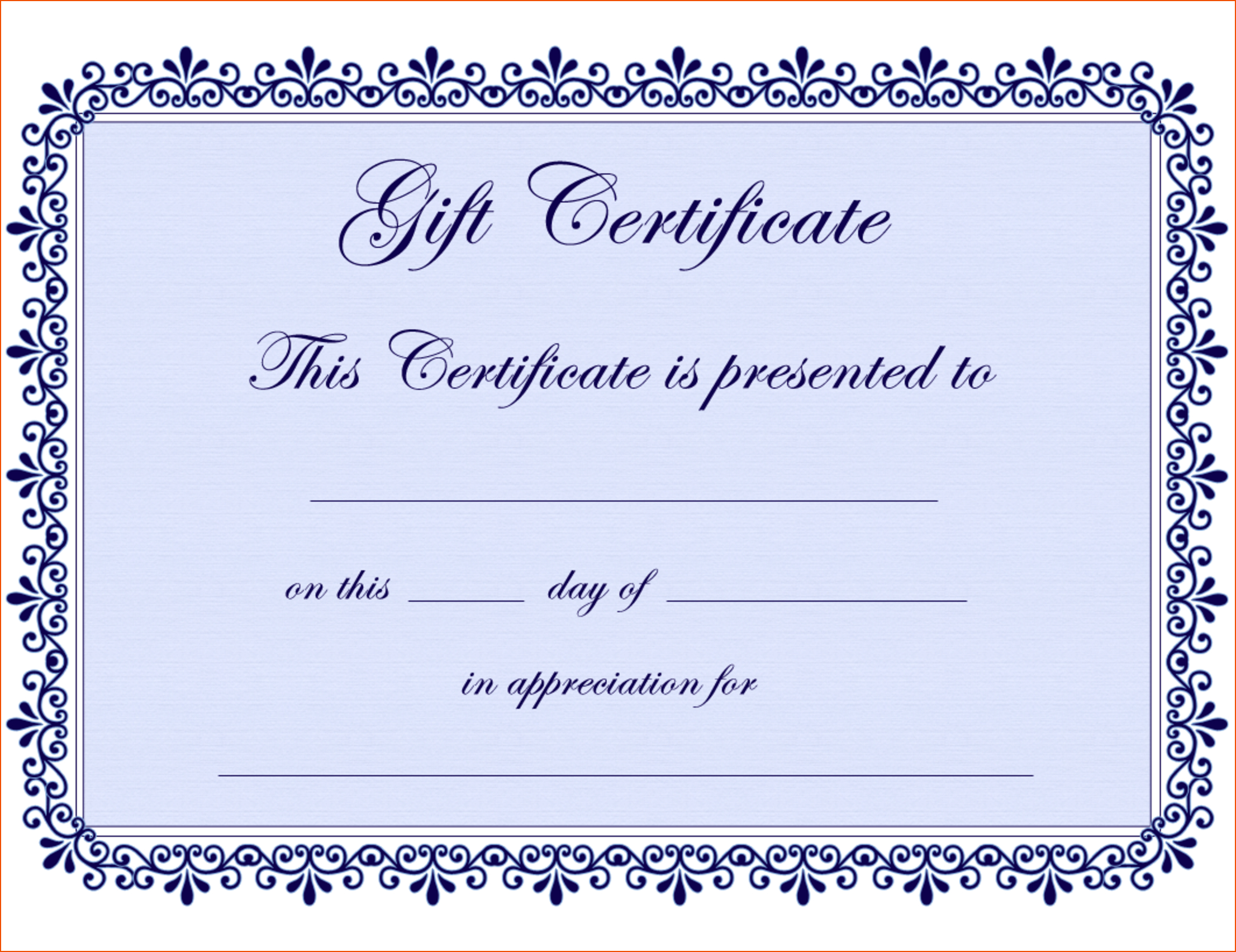 Certificate Template Blank Best Photos Of Microsoft Blank For Blank Certificate Templates Free Download