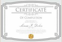 Certificate Template  Download Free Vector Art Stock Graphics  Images regarding Commemorative Certificate Template
