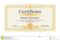 Certificate Template Editable Name Surname Date Stock Vector within Star Naming Certificate Template