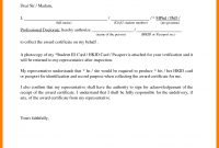Certification Renewal Letter Authorization Collect Certificate for Certificate Of Authorization Template
