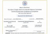 Ceu Certificates Template Elegant Continuing Education Certificate pertaining to Ceu Certificate Template