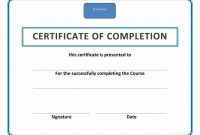 Character Certificate Templates  Free Printable Word  Pdf with Free Training Completion Certificate Templates