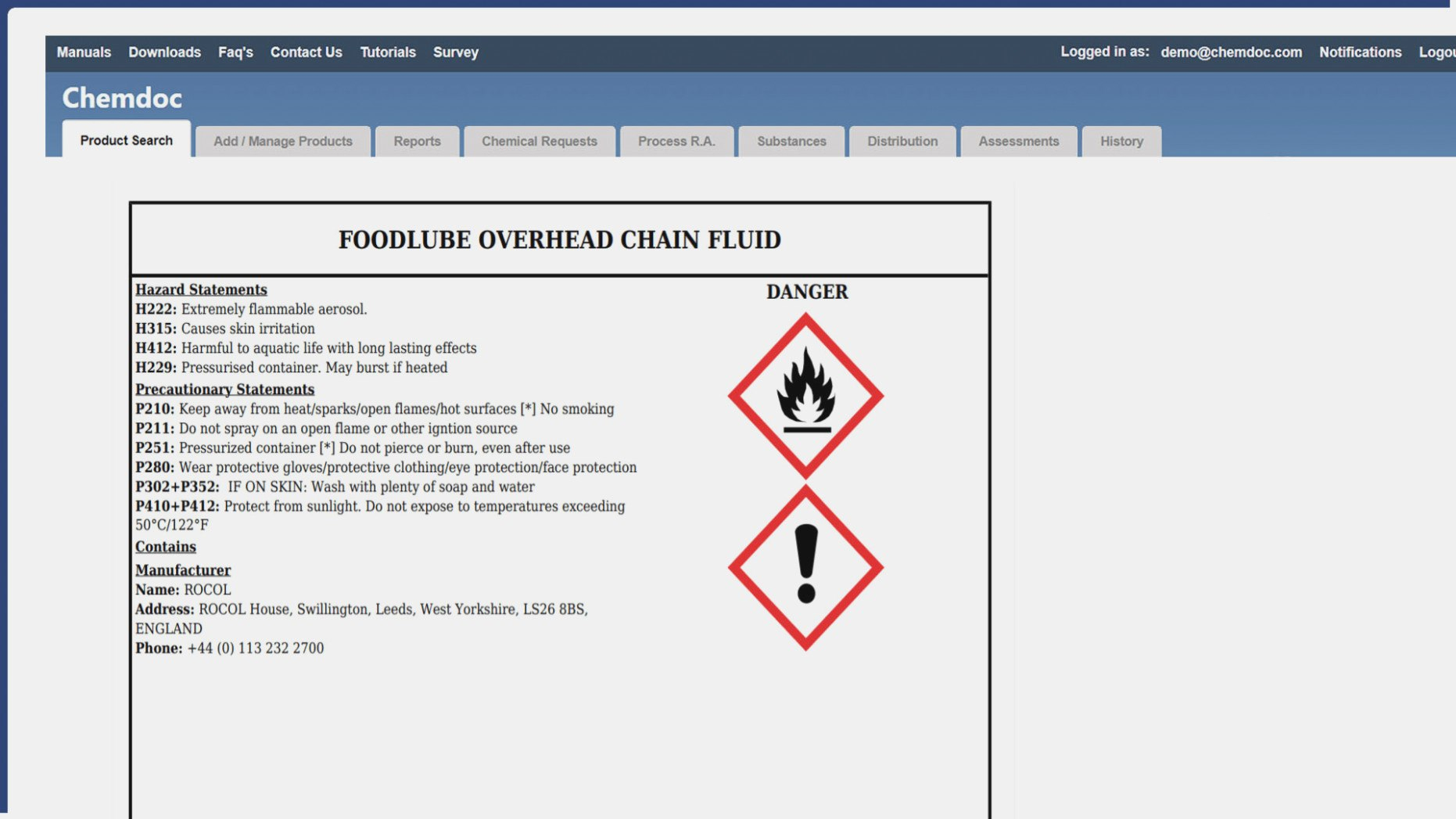 Chemical Labels Ghs Label Template  Chemdoc – Chemical Label With Ghs Label Template