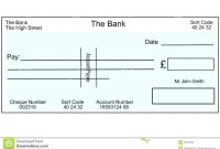 Cheque Template Word Filename  Fabulousfloridakeys with regard to Blank Cheque Template Uk