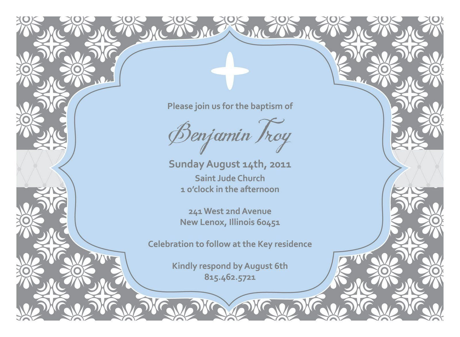 Christeninginvitationblanktemplate  Baptism Invitations With Regard To Blank Christening Invitation Templates