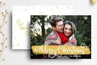 Christmas Card Template For Photographer throughout Holiday Card Templates For Photographers