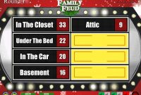 Christmas Family Feud Powerpoint Template More Details If You Want in Family Feud Powerpoint Template With Sound