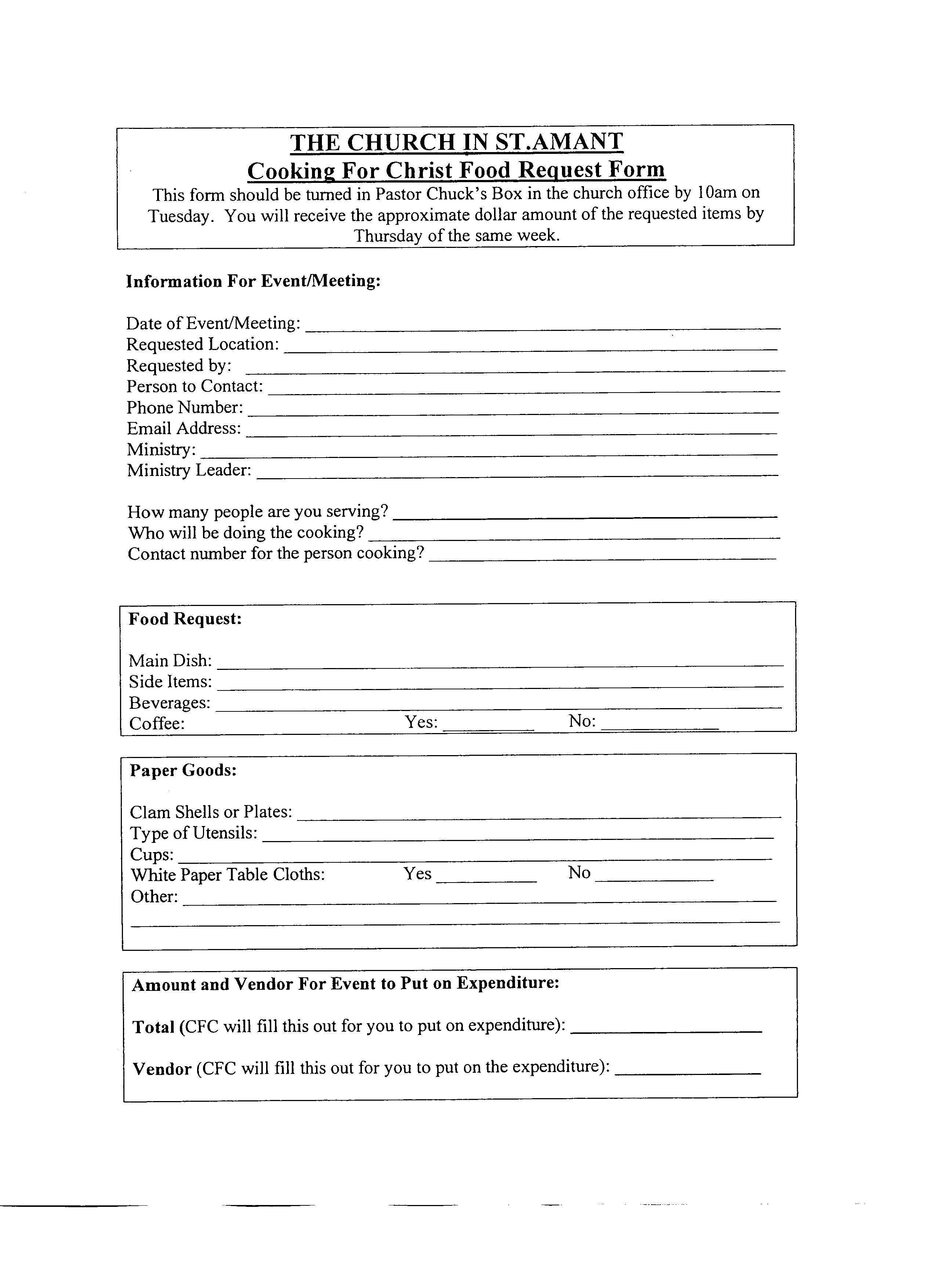 Church Facility Rental Agreement Template   Of Church Forms With Regard To Table And Chair Rental Agreement Template