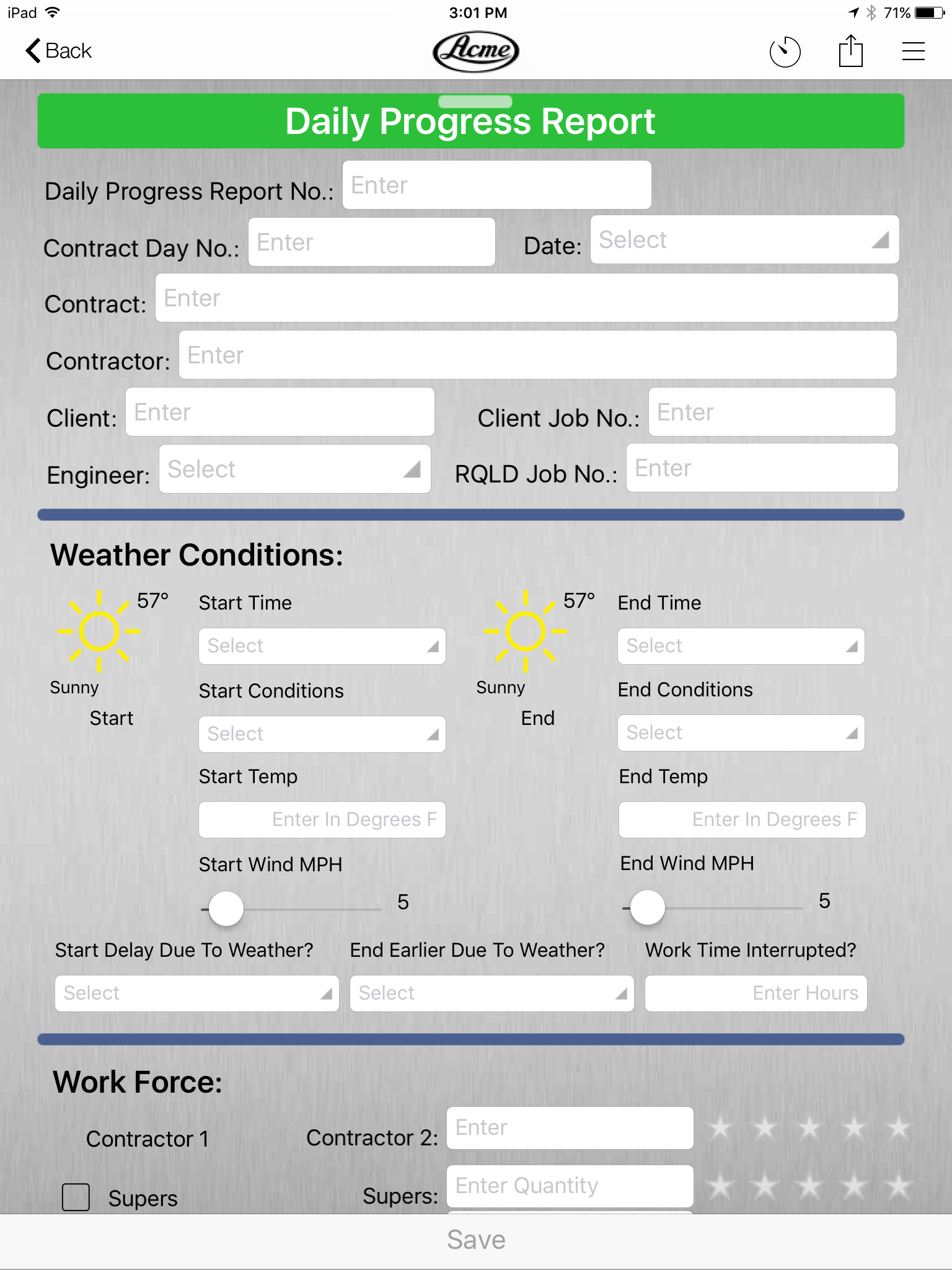Civil Engineering Daily Progress Report Example Form On The Inbound Throughout Engineering Progress Report Template