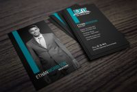 Clean Dark Exit Realty Business Card Design For Realtors  My Real regarding Coldwell Banker Business Card Template
