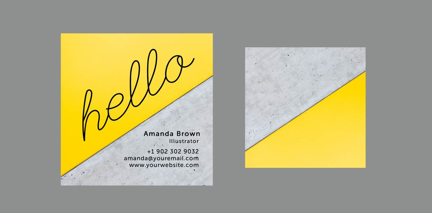 Clean  Simple Business Card Templates Perfect For Any Freelancer Inside Freelance Business Card Template