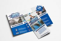 Cleaning Service Trifold Brochure Template In Psd Ai  Vector with regard to Cleaning Brochure Templates Free