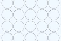"Clear Glossy Labels  "" Circle F   Wholesale Supplies Plus in 1.5 Circle Label Template"