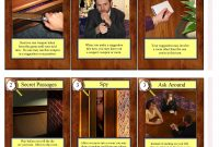 Clue Cards throughout Clue Card Template