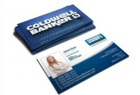 Coldwell Banker Business Card Template New Rate Coldwell Banker intended for Coldwell Banker Business Card Template