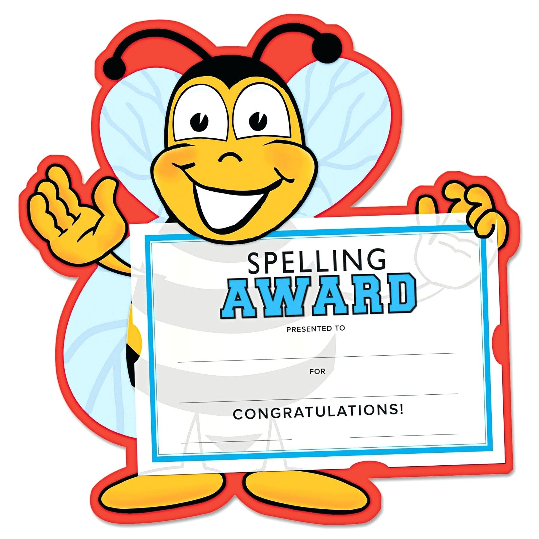 Collection Of Free Excelling Clipart Award Download On Ui Ex For Spelling Bee Award Certificate Template