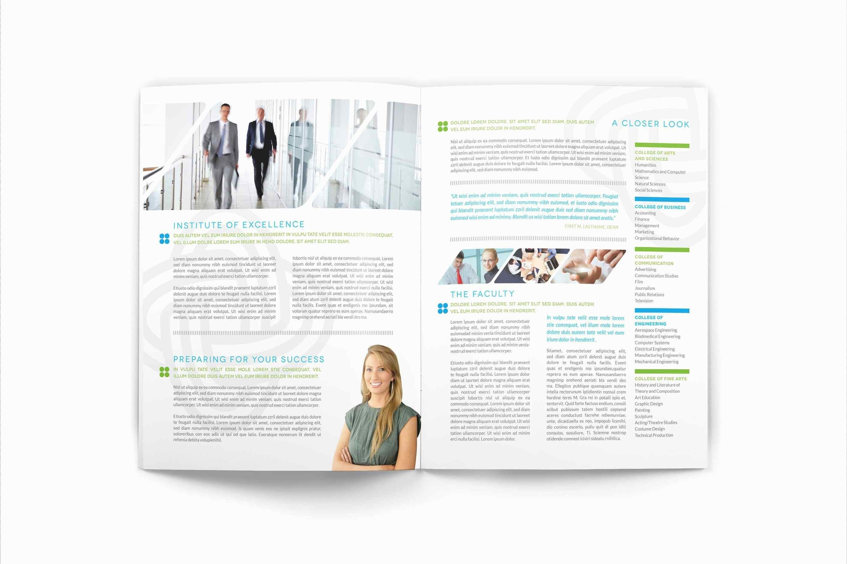 College Brochure Templates Free Download  Template Ideas Throughout Engineering Brochure Templates Free Download