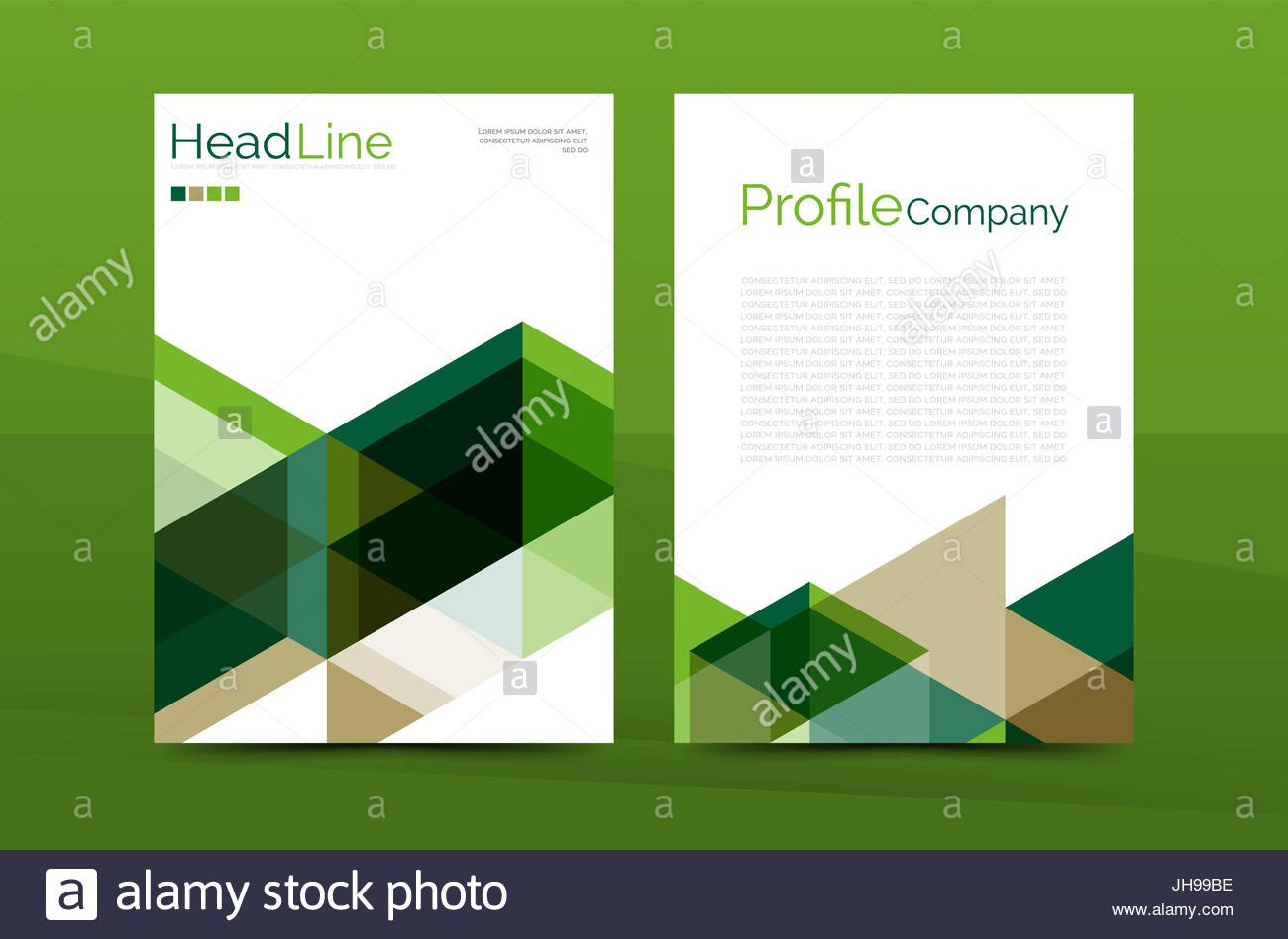 Color Business Brochure Cover Template Annual Report Front Page A In Report Front Page Template