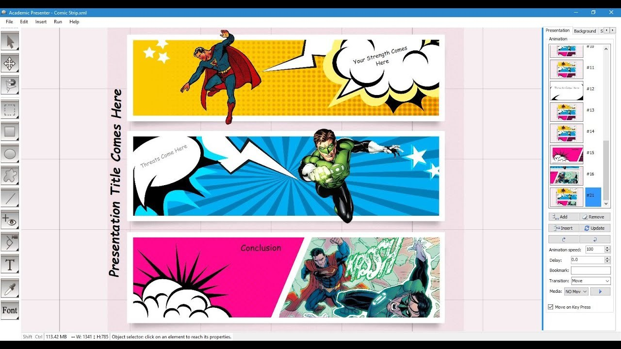 Comic Strip Template  Youtube For Powerpoint Comic Template