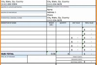 Commercial Invoice Proforma Invoice Fedex Sample – Wfacca regarding Fedex Proforma Invoice Template