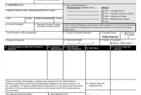 Commercial Invoice regarding International Shipping Label Template