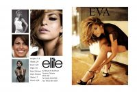 Comp Card Template  Template Business within Model Comp Card Template Free