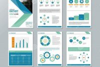 Company Profile Annual Report  Brochure  Flyer Page Layout in Annual Report Template Word Free Download