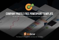 Company Profile Powerpoint Template Free  Slidebazaar pertaining to Free Business Profile Template Download
