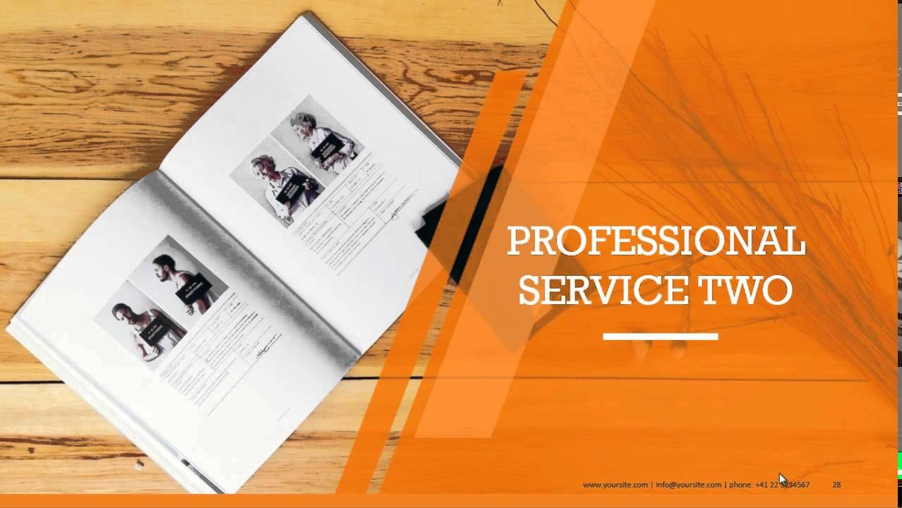 Company Profile Powerpoint Templates For Business Presentations Intended For Business Profile Template Ppt